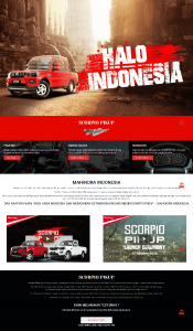 website mahindra indonesia mobil pick up