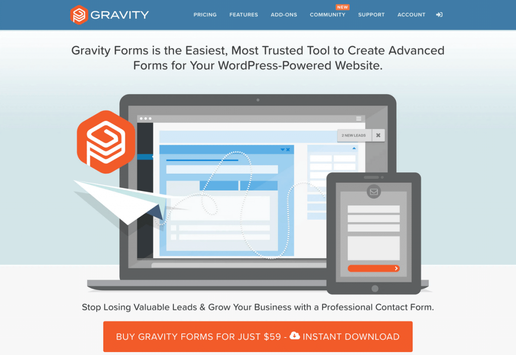 download gratis Plugin Contact Form WordPress terbaik